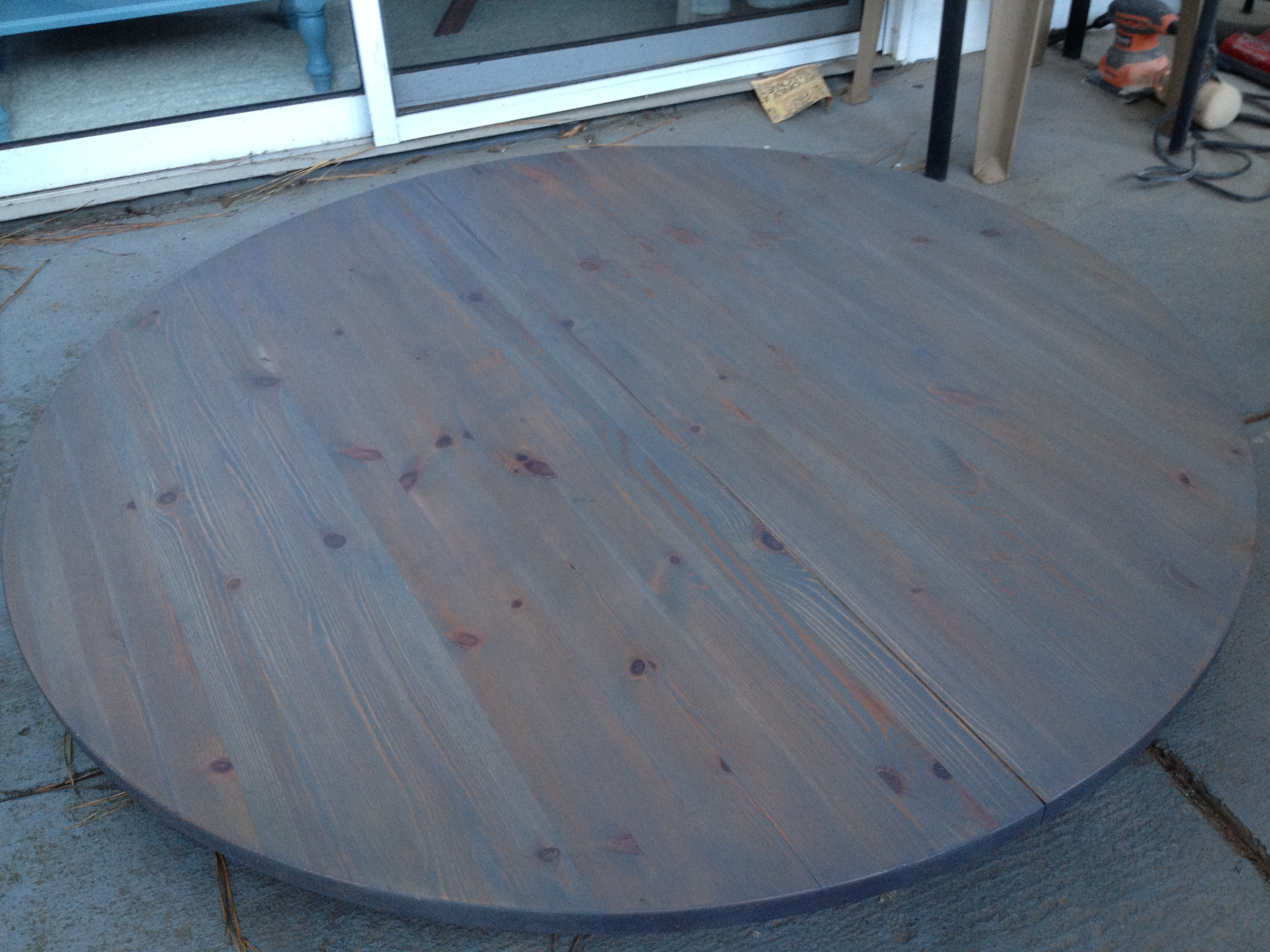 Weathered Gray Dining Table